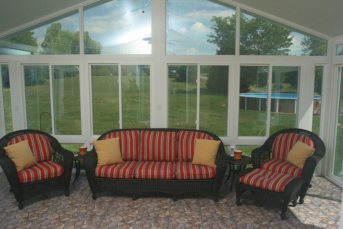 Sunroom With Furniture